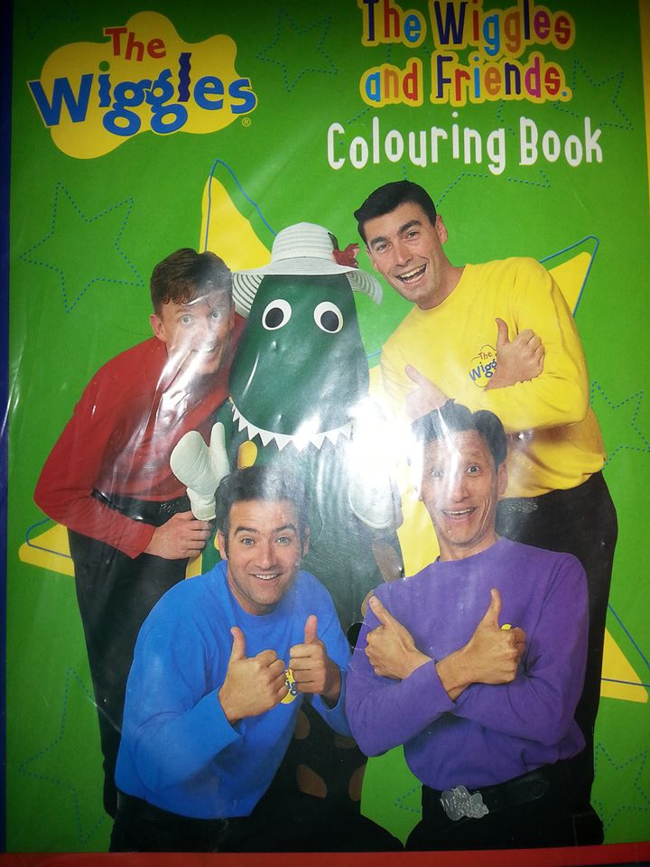 The Wiggles And Friends Colouring Book Wigglepedia