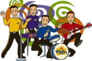 The Wiggles in cartoon form