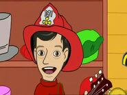 CartoonMurrayWearingFireman'sHat