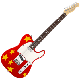 Red Starry Guitar Wigglepedia Fandom Powered By Wikia