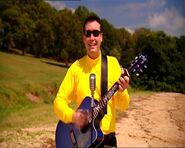 GregPlayingBlueMatonAcousticGuitarinSplishSplash!BigRedBoat