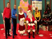 TheAwakeWiggles,SantaandMrs.Claus