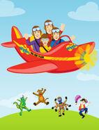 Wiggles plane