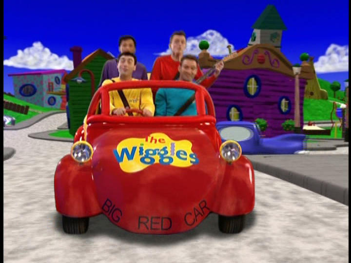 Red Car Game >> In The Big Red Car We Like To Ride Wigglepedia Fandom Powered By