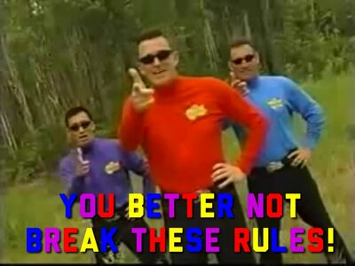 YouBetterNotBreakTheseRules!