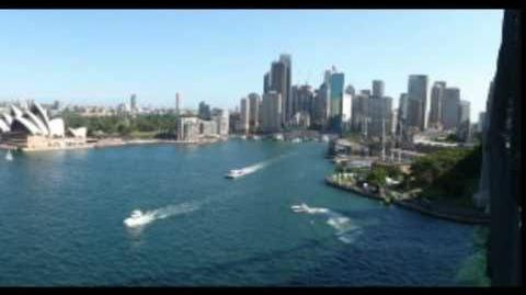 Advance Australia Fair (by The Wiggles) - Sydney Harbour from the Centre Point Tower
