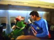 DorothyandAnthonyonQantasAirplane