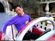 JeffSleepinginMickey'sRedCar