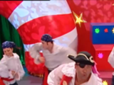 Captain Feathersword's Christmas Dance