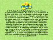 Wiggle Time & Wiggly Play Time Copyright Screen
