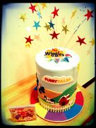 The Wiggles Album Debut Cake