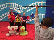 TheWiggles'RedNoseDay2015Commercial-BehindtheScenes2