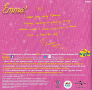Emma!albumbookletbackcover