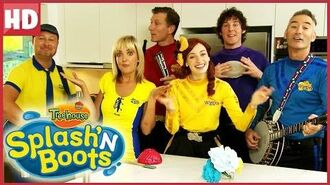 Splash'N Boots Dancing with the Wiggles featuring Charlie! Funny Show for Kids!
