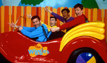 Wiggles BigRedCar early picture 90's