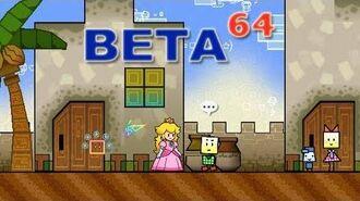 Beta64 - Super Paper Mario
