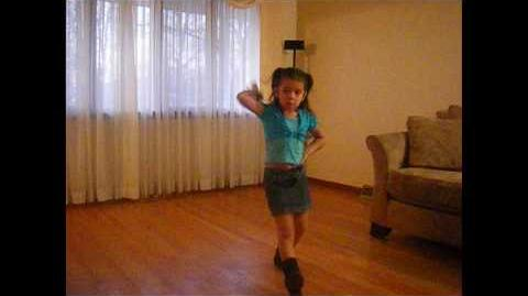 Wii-haw! Arianna dancing to Cotton Eye Joe from Just Dance