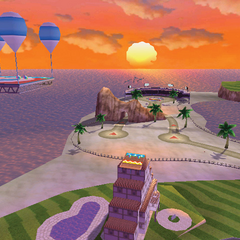 The Maka Wuhu circuit in Mario Kart 7