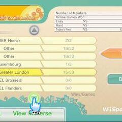 Ranking menu