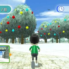 The plaza in winter, as seen in <i><a href=