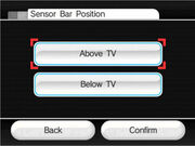 SensorBarPosition