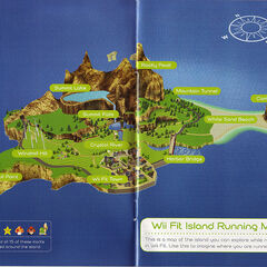 The prototype of the <b>Wuhu Island</b>, <b>Wii Fit Island</b>, how it appears in <a href=