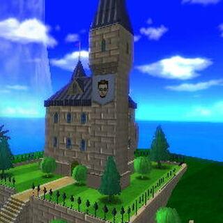 The private castle.
