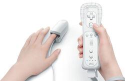 Wii vitality sensor