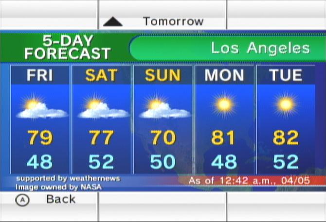 Forecast Channel | Wiikipedia | FANDOM powered by Wikia