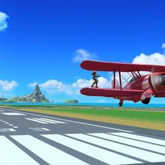 Wuhu Island as seen in <i>Super Smash Bros. for the Wii U/3DS</i>