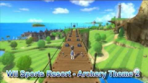 Wii Sports Resort - Archery Theme 2