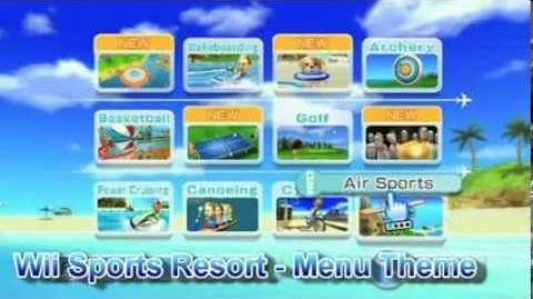 Wii Sports Resort - Menu Theme