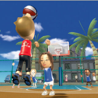 Gameplay screenshot of pickup game.