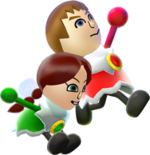 Mii Artwork - Super Mario 3D World