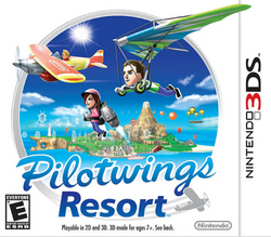 Pilotwings Resort NA cover
