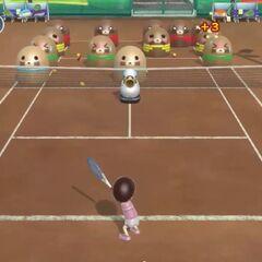 A Tennis Minigame
