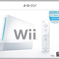 Wii box art.