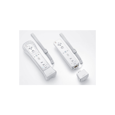 Wii Remotes with the MotionPlus.