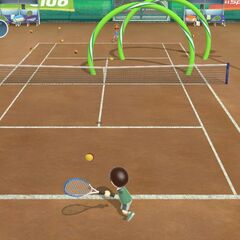 Another Tennis Minigame
