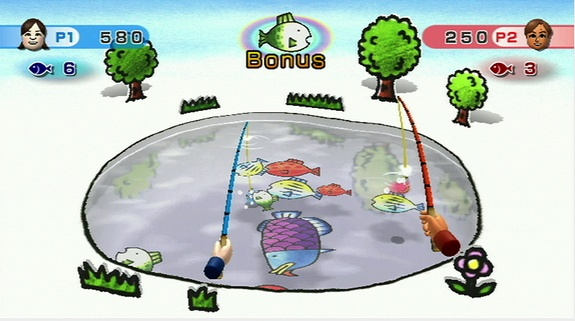 Image result for wii play fishing