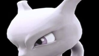 Super Smash Bros 4 Mewtwo Trailer (WII U 3DS DLC Characters) 【All HD】