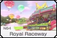 MK8- N64 Royal Raceway