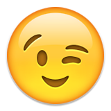 Resultado de imagen de emoji guiño png