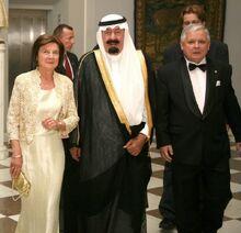 Wizyta króla Arabii Saudyjskiej Abdullaha bin Abdulaziz Al Saud w Polsce 2007