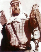 King Abdullah in his youth