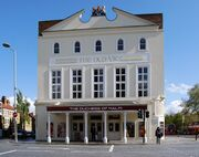 external view of front of Victorian theatre