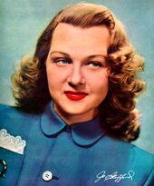 Jo Stafford color photo 1948