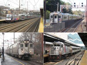 New Jersey Transit rail operations sampler