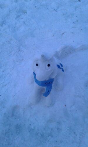Снеговик MLP