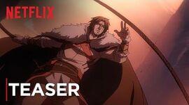 Castlevania Teaser Vengeance Netflix